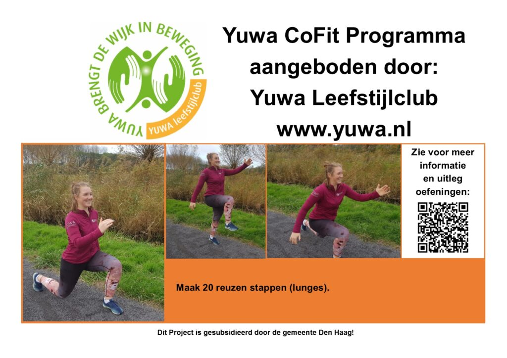 CoFit oefening lunge
